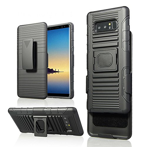 Zuzo Note 8 Belt Case, 5 in 1 Armor Case for Samsung Galaxy Note 8 (5 functions in 1)