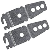 2-Pack Undercounter Dishwasher Bracket Replacement -