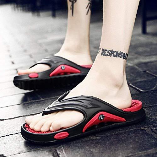 Con Playa Para Trend Fondo Flip Cómodas Antideslizantes Gris Azul Masaje De 45 Ligeras Hombres Fuxitoggo Y Flop Exteriores Zapatos Tamaño color Sandalias 6wq50wP