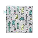 Bumkins Reusable Snack Bag, Large, Cacti