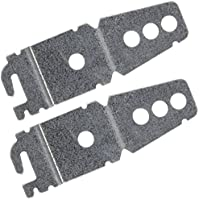 2-Pack Undercounter Dishwasher Bracket Replacement - Whirlpool -Compatible - Compare to 8269145/WP8269145 - Replacement Dishwasher Upper Mounting Bracket