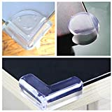 Tohotsuki 12 Pack Baby Guards Baby Proofing Corner Guards Caring Baby Corners Child Safety PVC Material Clear Furniture Corner Protectors Safety Table Corner Cushion