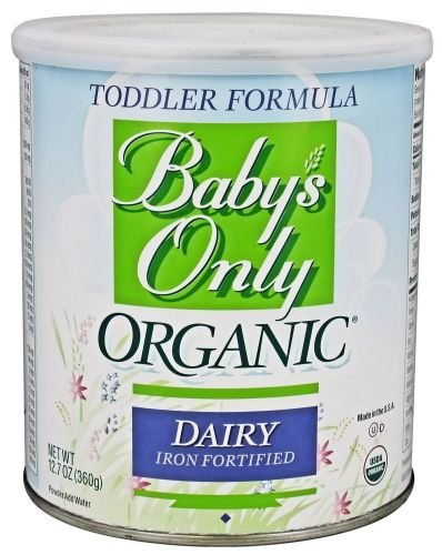 Baby's Only Organic Dairy Based Iron Fortified Toddler Formula, 12.7 oz (360 g) (3/Pack)