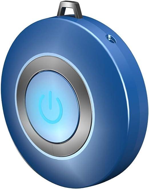 Fishyu Personal Purificador de Aire Collar Portable Mini Portable Negativ-Ionen-Generator para Adultos Niños - Azul: Amazon.es: Hogar