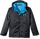 Under Armour Boys' Storm Wildwood 3-in-1 Jacket, Anthracite/Cruise Blue, Youth Medium