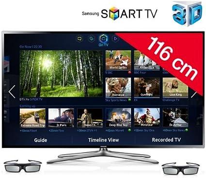 SAMSUNG Televisor LED 3D Smart TV UE46F6400: Amazon.es: Electrónica