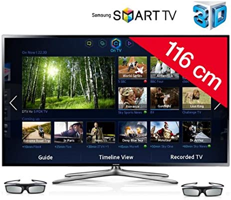 SAMSUNG Televisor LED 3D Smart TV UE46F6400 + Barra de sonido HW-F450: Amazon.es: Electrónica