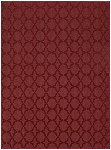 Garland Rug Sparta Area Rug, 12' x 18', Chili Pepper Red (Chili Pepper Rug)