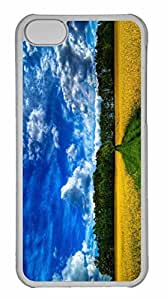 iPhone 5C Case, Personalized Custom Beautiful Landscape Hdr for iPhone 5C PC Clear Case