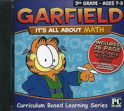 Amazon.com: Garfield Software/Workbook: It's All About Math 3rd Grade