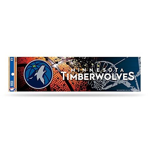 Rico NBA Minnesota Timberwolves Bumper Sticker by Rico