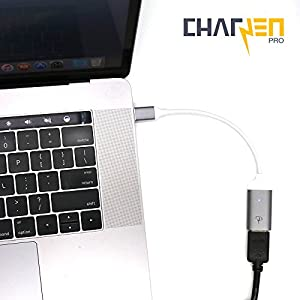 Certified CharJenPro PREMUM USB-C to HDMI Adapter : 4K@60Hz video output for Apple Macbook, Macbook Pro, Samsung S8, Chromebook, Dell, and other USB Type-C devices (Space Gray)