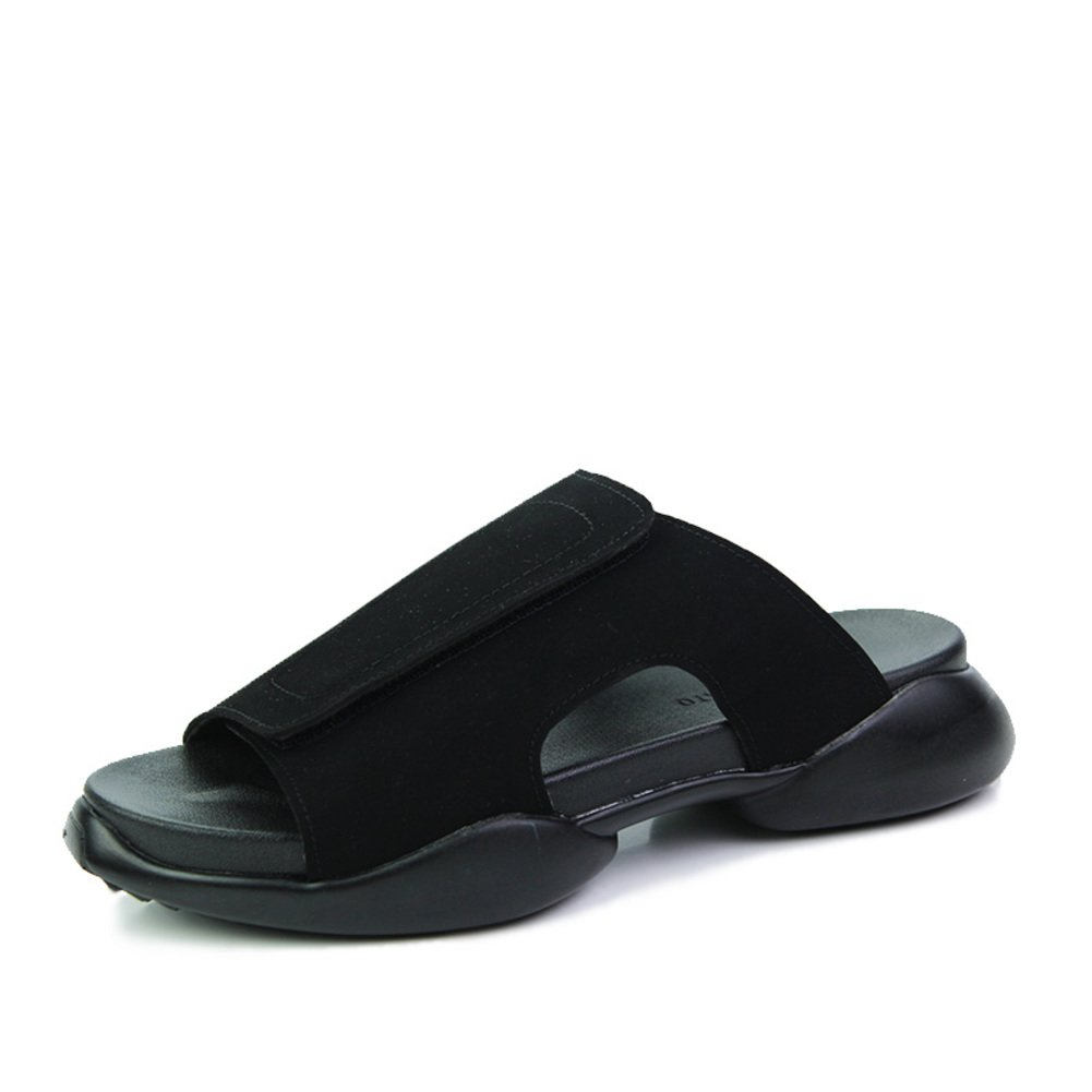 72a3a442abd4 CIAC XFDK Summer flip-Flops Mens Fashion Sandals Thick-Soled Black Shoes-A  Foot Length 26.8CM(10.6Inch)  Amazon.co.uk  Shoes   Bags