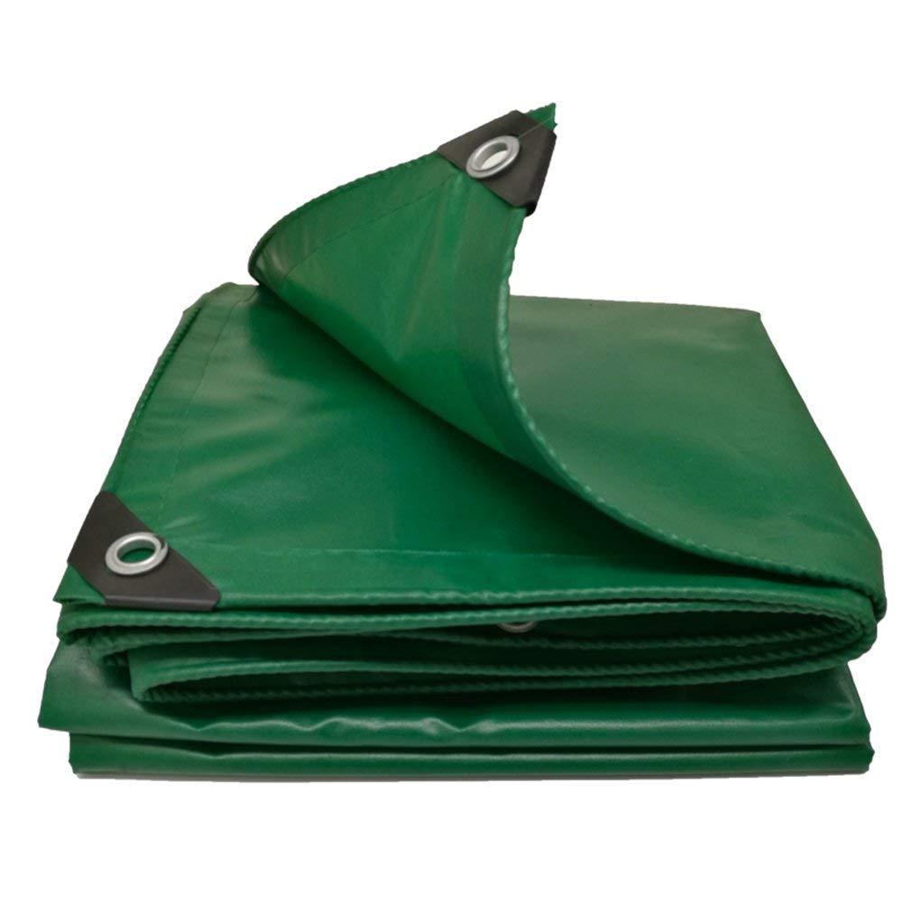 防水、緑色のキャンバス、防水性、防塵性、耐引裂性ファブリック、厚さ0.35mm、マルチサイズオプション(3.8x7.8m) (色 : Green, サイズ さいず : 4.8x7.8m) 4.8x7.8m Green B07KFC4CKM