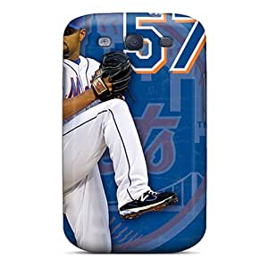 Protective Cell-phone Hard Cover For Samsung Galaxy S3 (bBW11094tvBx) Customized Vivid New York Mets Pattern