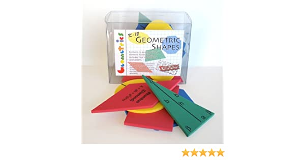 Counting Number worksheets geometry worksheets year 9 : Amazon.com: K-12 Geometric Shapes by Tessellations: Toys & Games