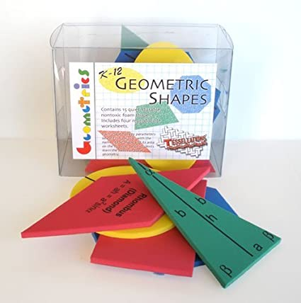 Amazon.com: K-12 Geometric Shapes by Tessellations: Toys & Games