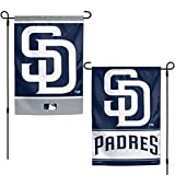WinCraft San Diego Padres WC Garden Flag Premium 2-Sided Banner Outdoor House Baseball