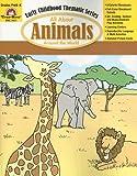 All about Animals Around the World Grades PreK-K, Evan-Moor, 159673034X