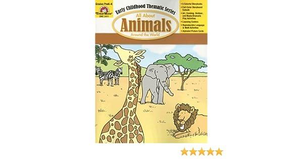 Amazon.com: All About Animals Around the World (9781596730342 ...