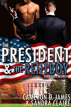 The President And The Rentboy (Forbidden Desires Book 3) by [James, Cameron D., Claire, Sandra]
