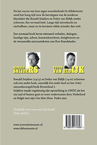 Een normaal boek: Amazon.es: Snijders, Ronald, Eldijk, Fedor ...