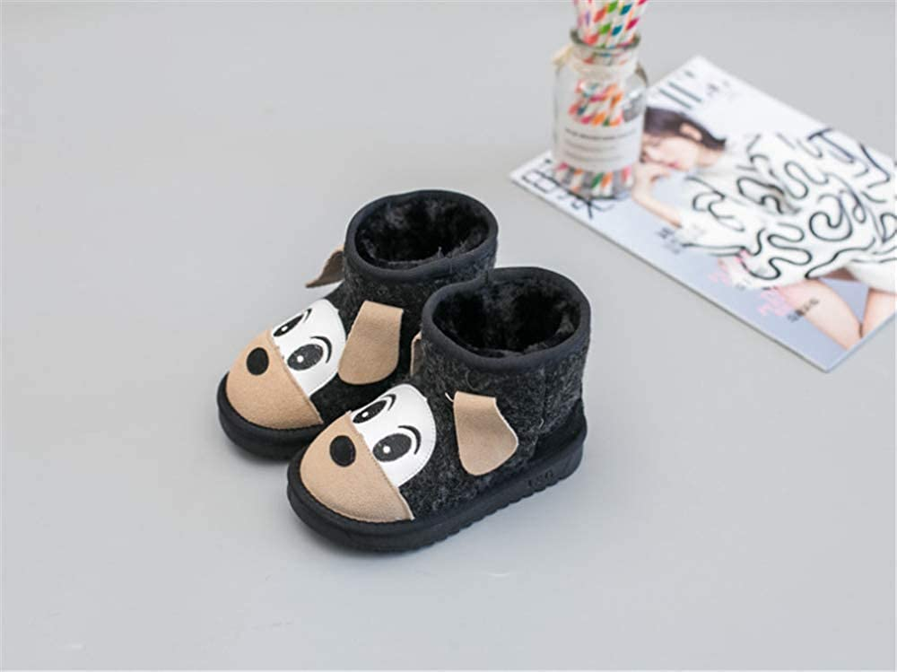 Quality.A Baby Toddler Shoes Girls Cotton Boots Walking Shoes Warm Snow Boots