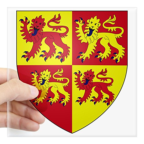 (CafePress Wales Coat of Arms Square Sticker 3