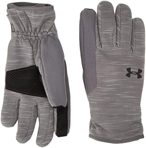 Under Armour Men's CGI Storm Gloves Graphite/Black MD (Under Armour Touch Screen Gloves)