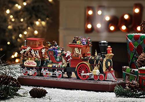 Mr. Christmas Animated Musical Santa's Express with Working Smokestack by Gold Label (Image #1)