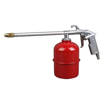 TrAdE shop Traesio® Pistola Lavado Aire Comprimido Para Compresor Depósito 1 lt Fuel Aceite: Amazon.es: Hogar