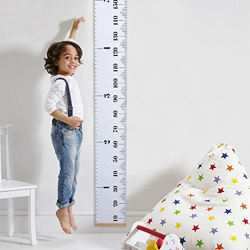 childs wall height chart - 9