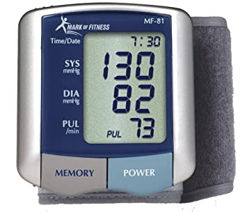 Mark of Fitness MF-81 Wrist Blood Pressure Monitor