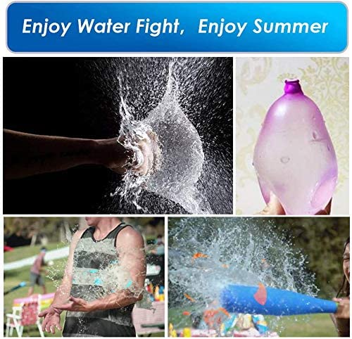 TOPRADE Water Balloon Slingshot Cannon Launcher Water Bomb Trebuchet Catapult Balloon Fight for Outdoor Beach
