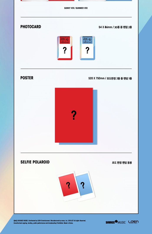 GFRIEND Summer Mini Album Random CD+Poster+PhotoBook+Tracking Number