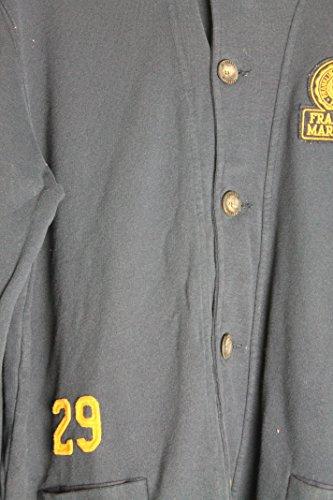 Franklin Marshall JKMR320FCLW10 Coton Marine Veste Gilet polaire à manches longues