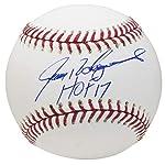 Ivan Rodriguez Autographed Signed Mlb Gold Glove Award Baseball Ball Jsa Coa Autographs-original