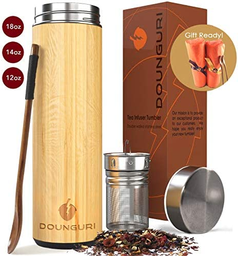 DOUNGURI Bamboo Tumbler Strainer Infuser product image