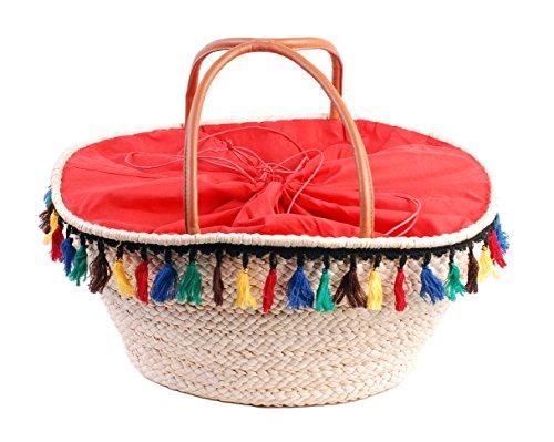 SLINGBAG Karen XL Sommer Tasche / Strandtasche / Shopper aus Seegras / Farbauswahl