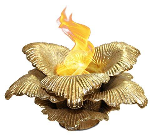 Anywhere Fireplace Chatsworth Botanical Gel Fuel Fireplace (Gold)