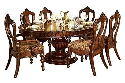 Aarsun Woods Handcrafted Royal Dining Set in Teak Wood