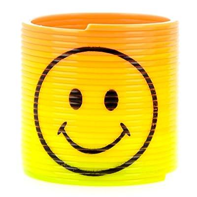 Henbrandt Brillantes y divertidos resortes de plástico - Relleno de botín de bolsa de fiesta / Recompensas de clase / Juguete de fiesta (12 piezas): Juguetes y juegos