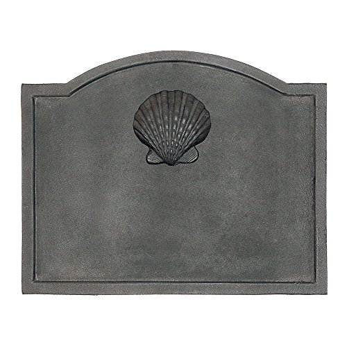 Minuteman International Shell Cast Iron Fireback, Small Minuteman Fireback