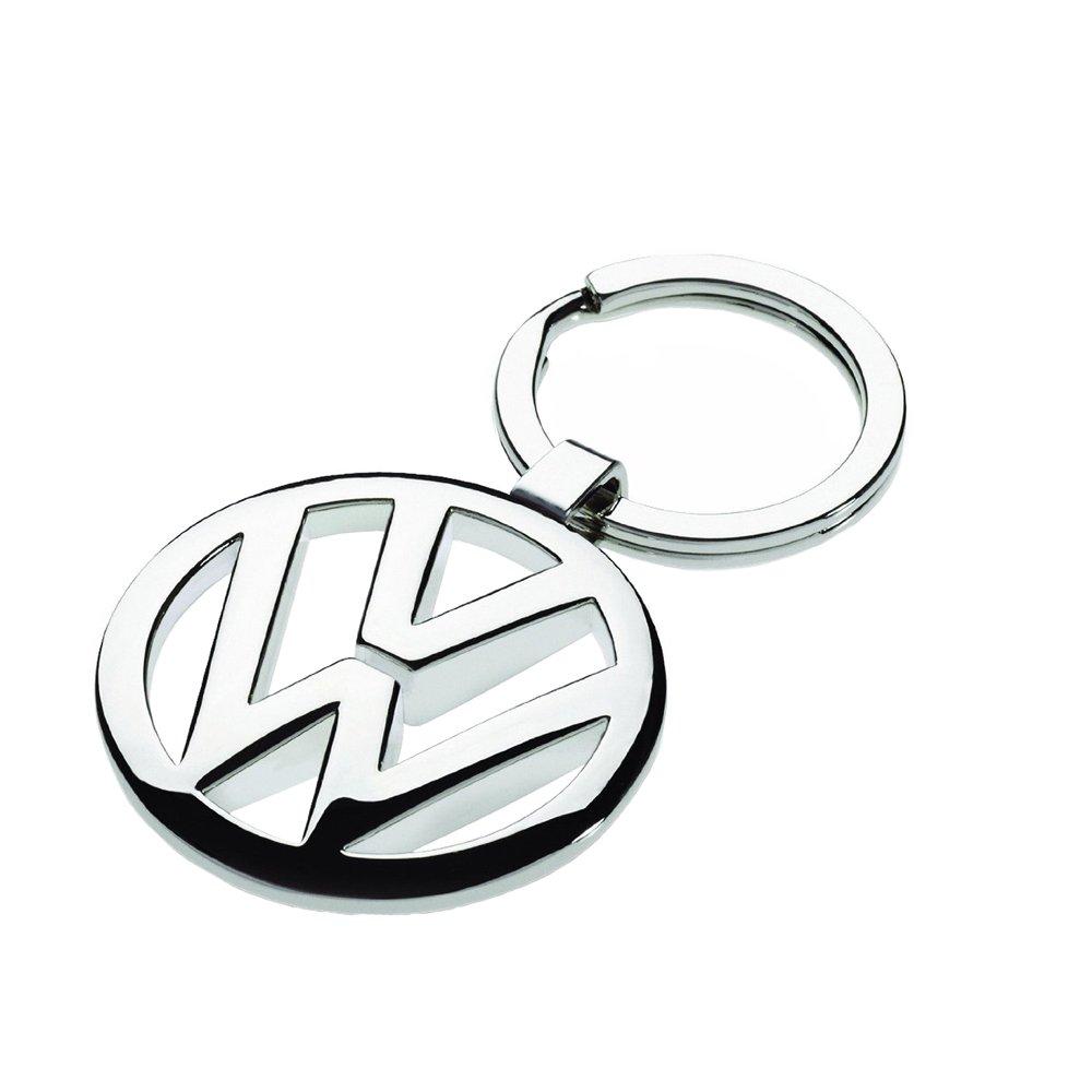 Volkswagen 000087908 Keyring Keychain, Silver Volkswagen Zubehör GmbH