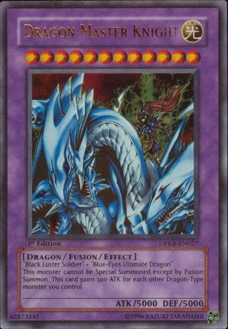 - Yu-Gi-Oh! - Dragon Master Knight (DPKB-EN027) - Duelist Pack: Kaiba - Unlimited Edition - Ultra Rare