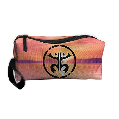 Taino Frog Puertorro Puerto Rican Portable Zipper Storage Bag Portable Storage Pouch Travel Makeup Bag by JYDPROV (Image #1)