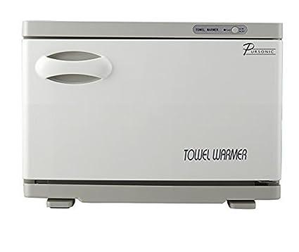 2 en 1 Esterilizador de toalla 8L UV Toalla calentador Caliente Esterilizador Gabinete Piel Spa Herramienta
