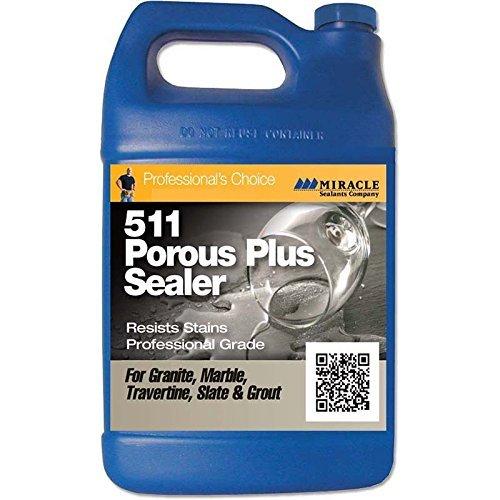 Miracle Sealants PLUS QT SG 511 Porous Plus Penetrating Sealer, Quart by Miracle Sealants [並行輸入品] B0184Y7C40