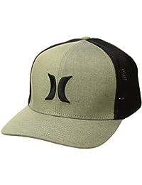 Mens Black Textures Baseball Cap