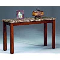 Thurner Marble Top Sofa Table By Crown Mark Furniture